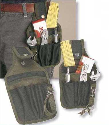 Porta oggetti set attrezzi utensili cintura nylon 600d 6 - Porta metro da cintura ...