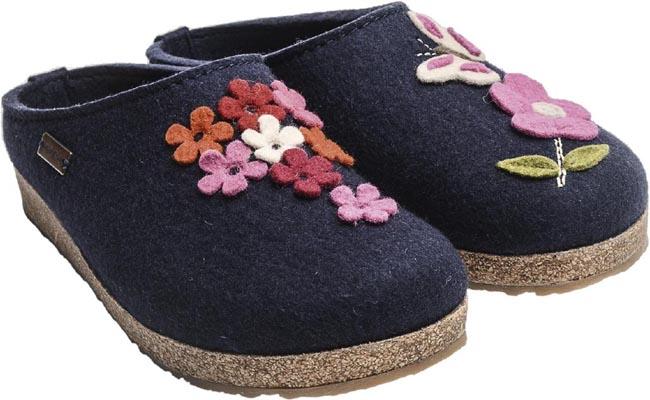 the best attitude 8ba20 564a1 Dettagli su HAFLINGER ADMIO pantofole donna in lana cotta tiene il piede  caldo misure 35-43
