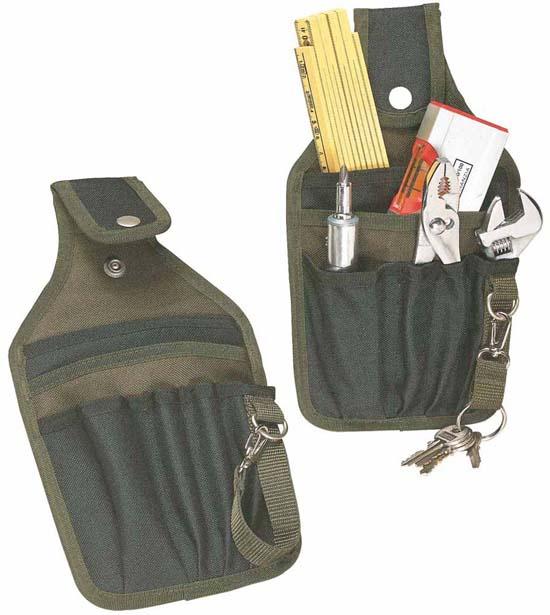 Porta oggetti set per attrezzi da cintura nylon 600d 6 - Porta metro da cintura ...